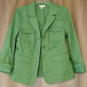Green light jacket